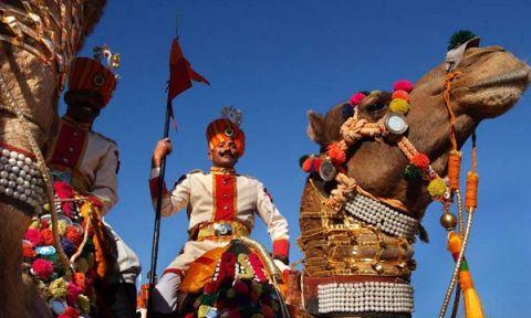 Tham gia lễ hội lạc đà lớn nhất thế giới bằng vé máy bay Korean Air đi Ấn Độ