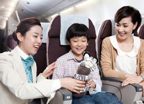 Dịch Vụ Trẻ Em Đi Máy Bay 1 Mình Của Korean Air UM