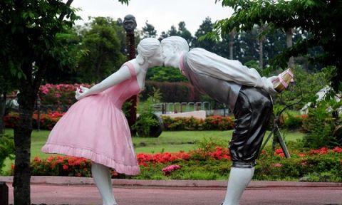 Đỏ mặt với công viên tình yêu trên đảo Jeju – Hàn Quốc