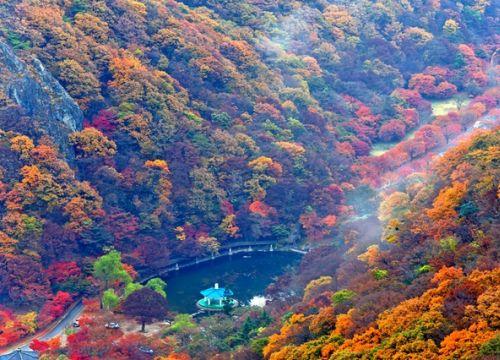 Cảnh đẹp Hàn Quốc mùa thu