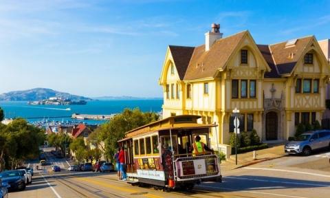 Ưu đãi giá vé máy bay đi San Francisco khứ hồi từ TP.HCM