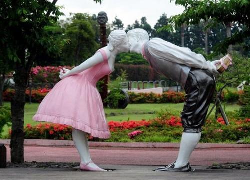 Đỏ mặt với công viên tình yêu ở đảo Jeju Hàn Quốc