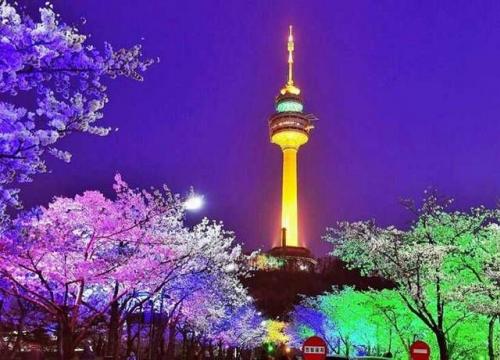 Tháp Namsan Seoul Hàn Quốc