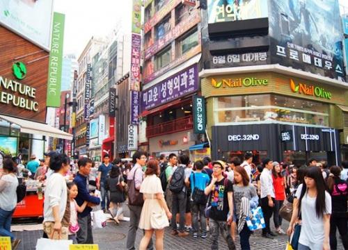 Những trung tâm mua sắm ở Seoul