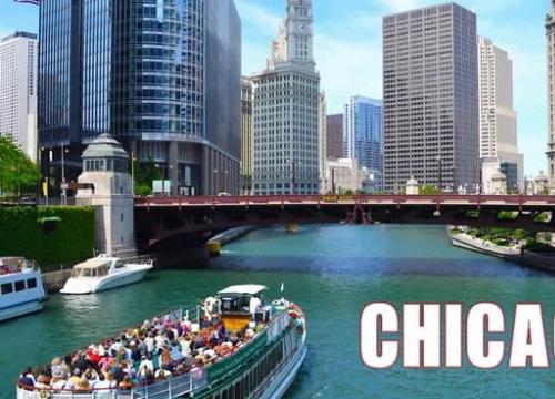 Khuyến mãi vé máy bay khứ hồi đi Chicago từ TP.HCM chỉ 571 USD