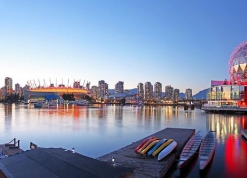 Khuyến mãi vé máy bay đi Vancouver khứ hồi từ Hà Nội chỉ 552 USD