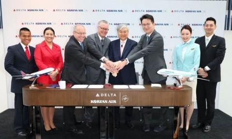 Korean Air và Delta Airlines ưu đãi giá vé máy bay đi Mỹ