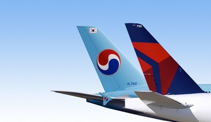 Korean Airlines hợp tác với Delta Airlines