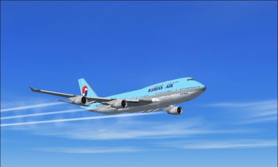 Vé Máy Bay Korean Air Đi Richmond