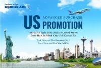 Korean Air Khuyến Mãi Đi Mỹ Khứ Hồi Chỉ 780 USD