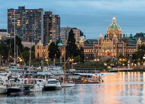 Vé Máy Bay Đi Canada Giá Rẻ Đến Victoria