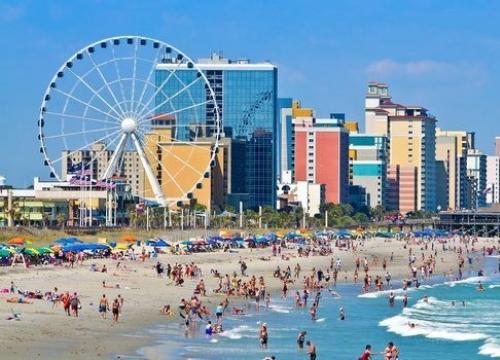 Vé Máy Bay Đi Mỹ Giá Rẻ Đến Myrtle Beach