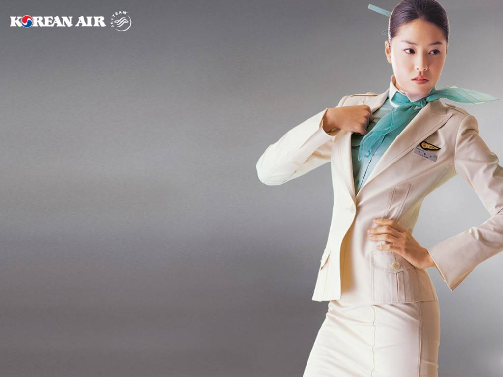 korean-air-beauitful-stewardess-wallpaper