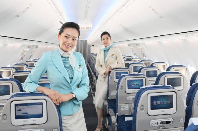 vé may bay korean air đi tampa