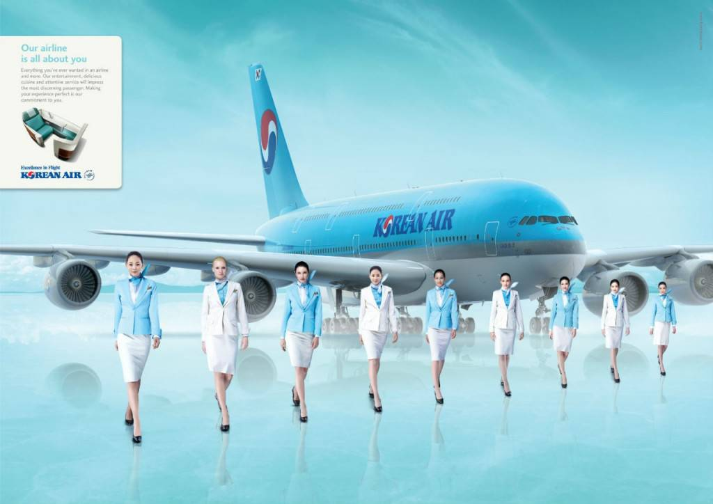 ve may bay korean air