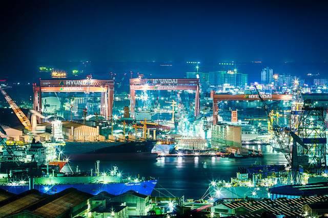 Hyundai- nhà máy đóng tàu lớn nhất thế giới