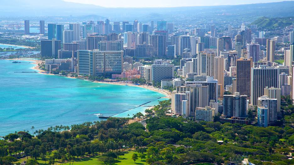 ve may bay di Honolulu
