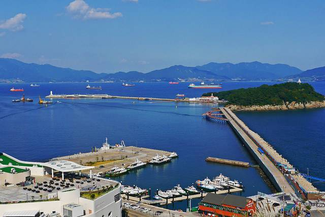ve may bay di Yeosu