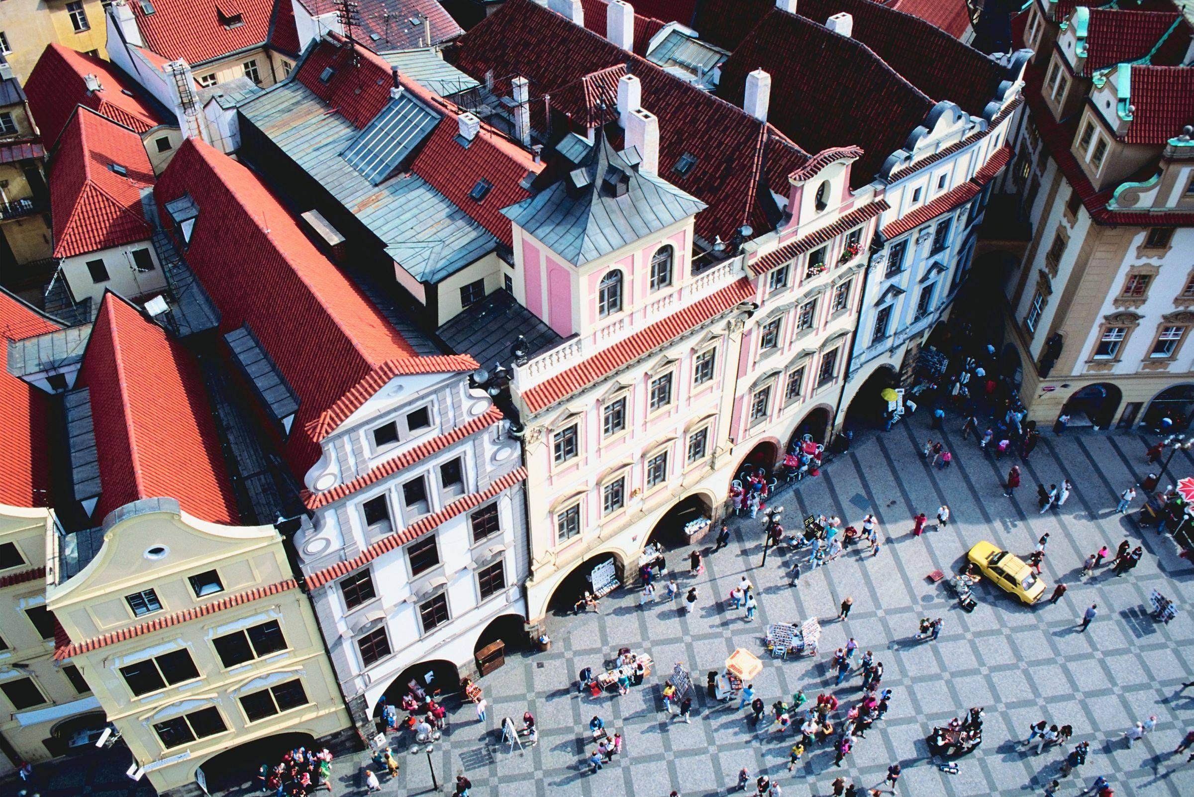 Vé máy bay đi Prague Cộng hòa Séc