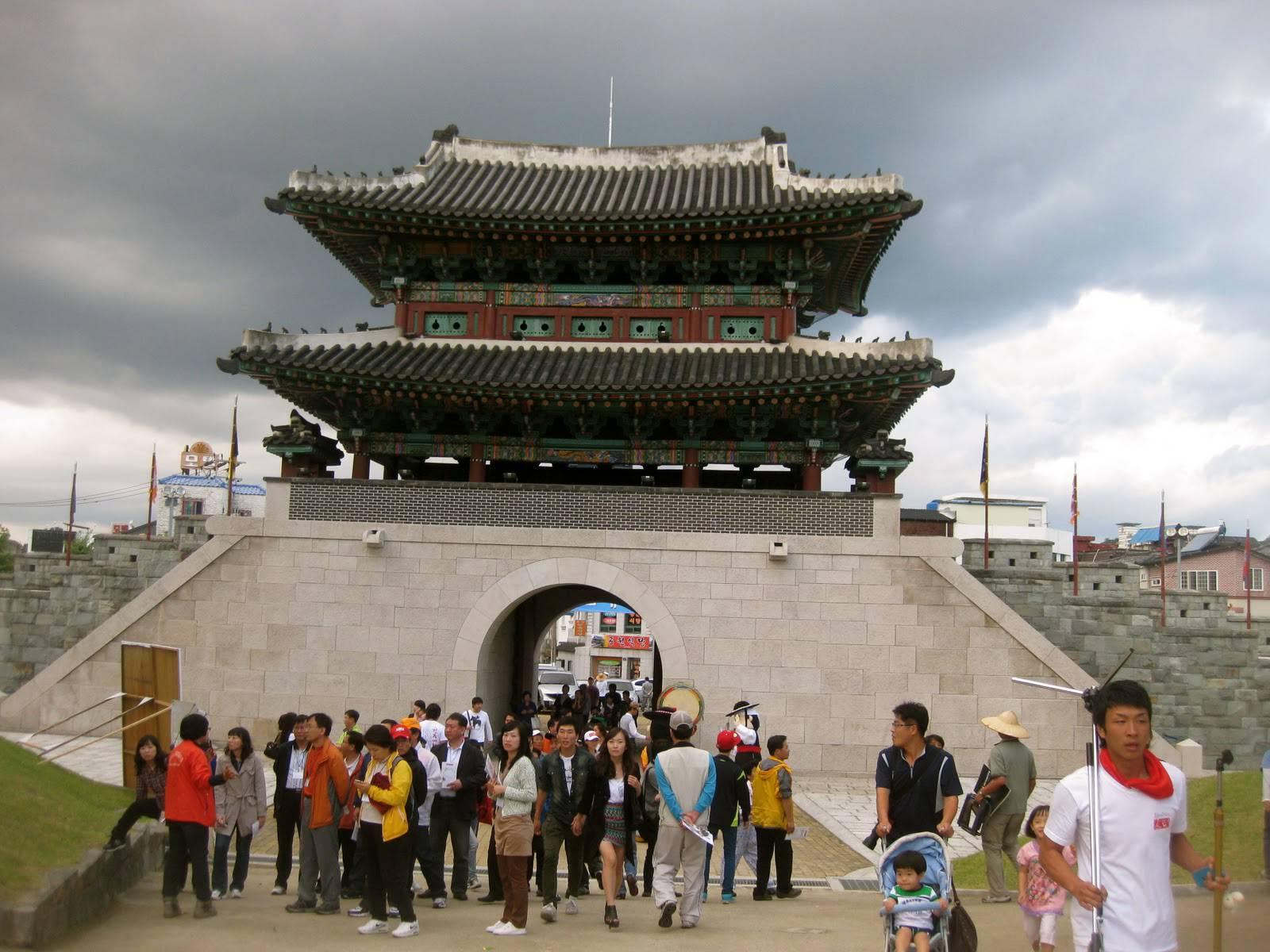 Vé máy bay đi Jinju Hàn Quốc hãng Korean Air
